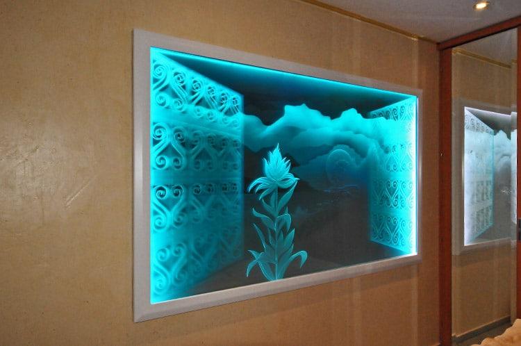 dusche beleuchtung sternenhimmel raum und m beldesign inspiration. Black Bedroom Furniture Sets. Home Design Ideas