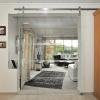 Glasschiebetür-Raumteiler