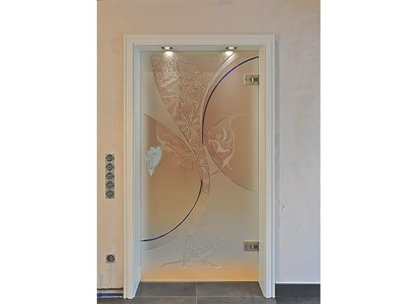 Glastür mit Design – Kepka Art