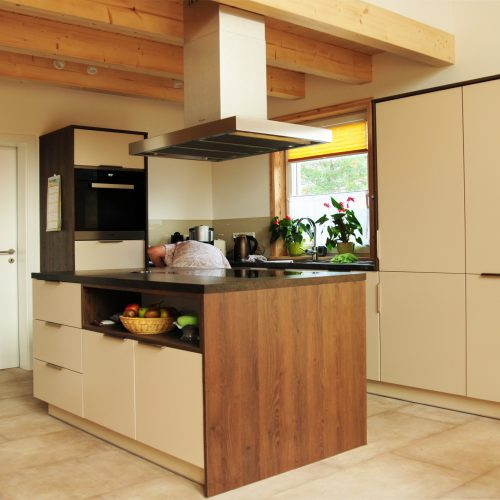 Küche Lack matt Holz Kasselmann