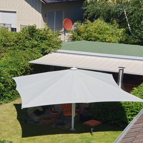 Sonnenschutz Grossschirm Warema_Kassettenmarkiese 580