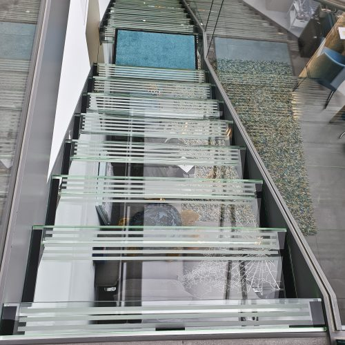LED Glastrreppe