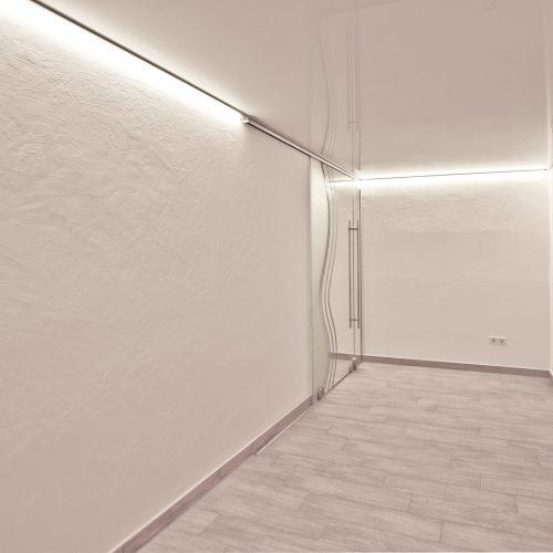 LED-Lackspanndecke